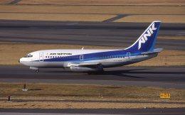 F-4さんが、羽田空港で撮影したエアーニッポン 737-281/Advの航空フォト(飛行機 写真・画像)