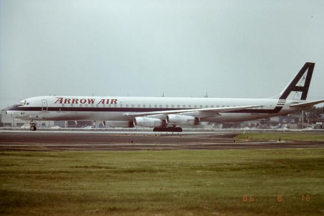 panchiさんが、横田基地で撮影したアロー航空 DC-8-63CFの航空フォト(飛行機 写真・画像)
