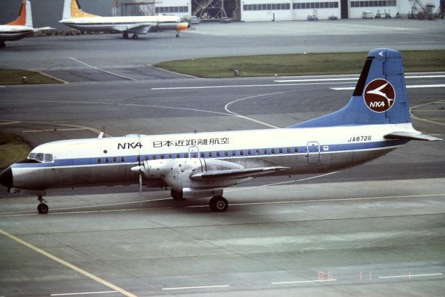 panchiさんが、羽田空港で撮影した日本近距離航空 YS-11A-213の航空フォト(飛行機 写真・画像)