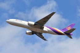 saoya_saodakeさんが、成田国際空港で撮影したタイ国際航空 777-2D7の航空フォト(飛行機 写真・画像)