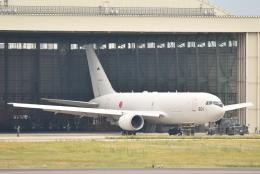 のぶさん。さんが、名古屋飛行場で撮影した航空自衛隊 KC-767J (767-2FK/ER)の航空フォト(飛行機 写真・画像)