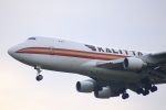 さもんほうさくさんが、成田国際空港で撮影したカリッタ エア 747-4B5F/SCDの航空フォト(飛行機 写真・画像)
