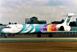 amagoさんが、伊丹空港で撮影した日本エアシステム MD-90-30の航空フォト(飛行機 写真・画像)