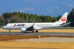 Kuuさんが、鹿児島空港で撮影したジェイエア ERJ-190-100(ERJ-190STD)の航空フォト(飛行機 写真・画像)