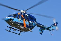 ブルーさんさんが、静岡ヘリポートで撮影した和歌山県警察 BK117B-2の航空フォト(飛行機 写真・画像)