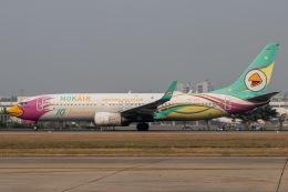 KANTO61さんが、ドンムアン空港で撮影したノックエア 737-86Jの航空フォト(飛行機 写真・画像)