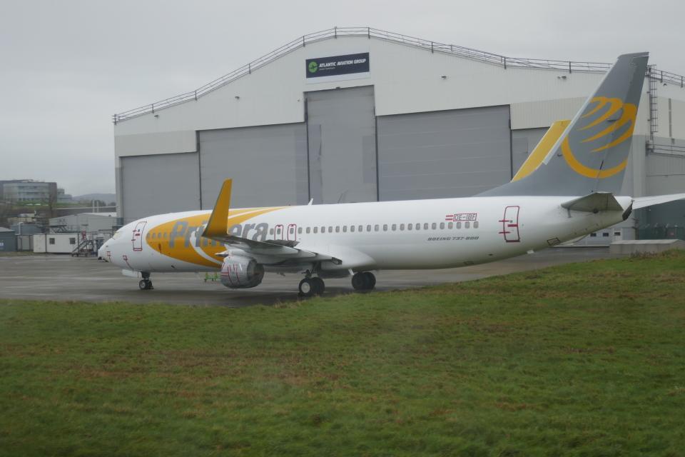TUILANYAKSUさんのエアキャップ Boeing 737-800 (OE-IBF) 航空フォト