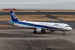 KANTO61さんが、羽田空港で撮影した全日空 A321-211の航空フォト(飛行機 写真・画像)