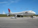 南国の防人さんが、アントニオ・B・ウォン・パット国際空港で撮影した日本航空 747-346の航空フォト(飛行機 写真・画像)