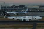 imosaさんが、羽田空港で撮影したタイ国際航空 747-4D7の航空フォト(飛行機 写真・画像)
