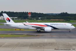 いおりさんが、成田国際空港で撮影したマレーシア航空 A350-941の航空フォト(飛行機 写真・画像)