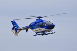 TAKAHIDEさんが、新潟空港で撮影した東北エアサービス EC135P2+の航空フォト(飛行機 写真・画像)