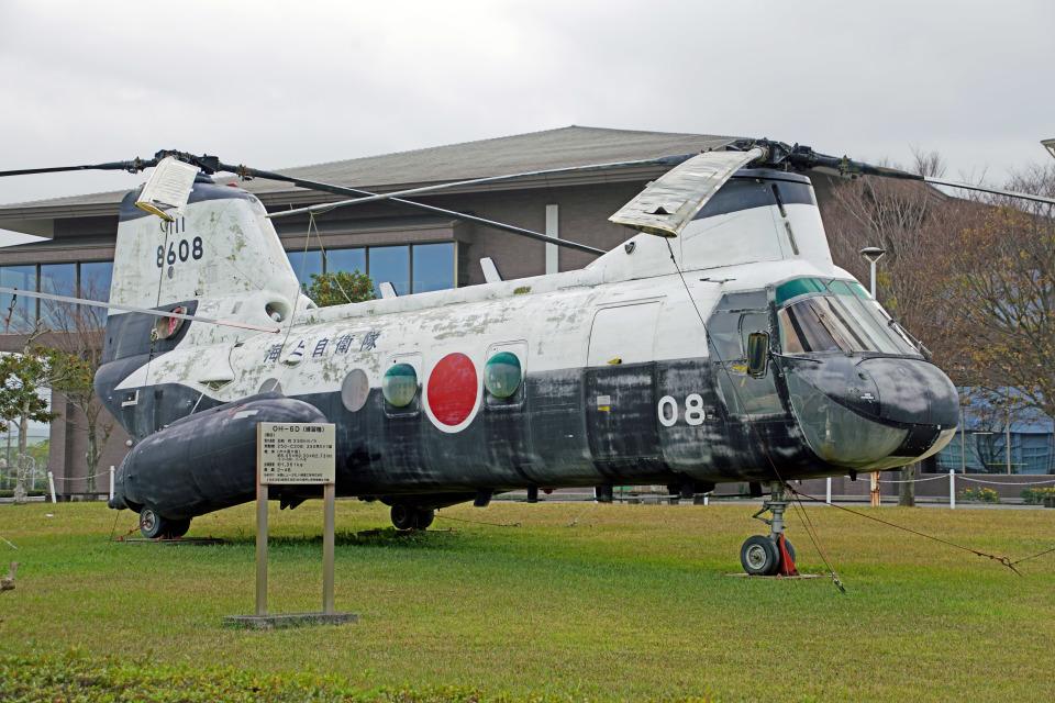 ちゃぽんさんの海上自衛隊 Kawasaki V-107 (8608) 航空フォト
