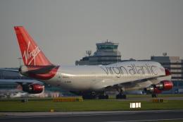 taiki17さんが、マンチェスター空港で撮影したヴァージン・アトランティック航空 747-443の航空フォト(飛行機 写真・画像)