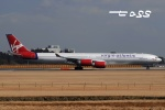 tassさんが、成田国際空港で撮影したヴァージン・アトランティック航空 A340-642の航空フォト(飛行機 写真・画像)