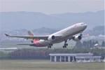 kumagorouさんが、仙台空港で撮影したアシアナ航空 A330-323Xの航空フォト(飛行機 写真・画像)