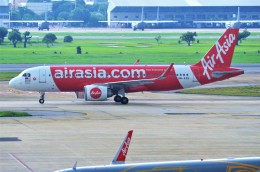 amagoさんが、ドンムアン空港で撮影したエアアジア A320-251Nの航空フォト(飛行機 写真・画像)