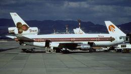 cathay451さんが、伊丹空港で撮影したタイ国際航空 DC-10-30の航空フォト(飛行機 写真・画像)