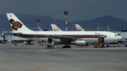 cathay451さんが、伊丹空港で撮影したタイ国際航空 A300B4-103の航空フォト(飛行機 写真・画像)