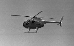 masahiさんが、静岡県静岡市草薙球場で撮影した日本法人所有 Hughes 369HSの航空フォト(飛行機 写真・画像)
