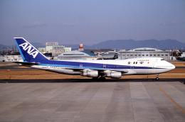 なごやんさんが、名古屋飛行場で撮影した全日空 747SR-81の航空フォト(飛行機 写真・画像)