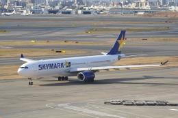 LEGACY-747さんが、羽田空港で撮影したスカイマーク A330-343Xの航空フォト(飛行機 写真・画像)
