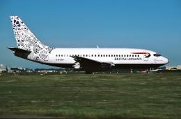 パール大山さんが、ロンドン・ガトウィック空港で撮影したブリティッシュ・エアウェイズ 737-236/Advの航空フォト(飛行機 写真・画像)