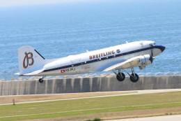 青春の1ページさんが、神戸空港で撮影したスーパーコンステレーション飛行協会 DC-3Aの航空フォト(飛行機 写真・画像)