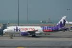 LEGACY-747さんが、香港国際空港で撮影した香港エクスプレス A320-232の航空フォト(飛行機 写真・画像)