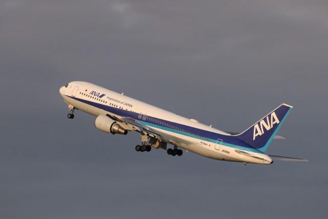KAZFLYERさんが、羽田空港で撮影した全日空 767-381/ERの航空フォト(飛行機 写真・画像)