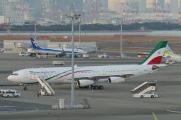 TUILANYAKSUさんが、羽田空港で撮影したイラン・イスラム共和国政府 A340-313Xの航空フォト(飛行機 写真・画像)