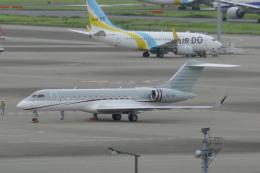 TUILANYAKSUさんが、羽田空港で撮影したトルコ企業所有 BD-700-1A10 Global 6000の航空フォト(飛行機 写真・画像)