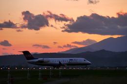 やまけんさんが、仙台空港で撮影したアイベックスエアラインズ CL-600-2B19 Regional Jet CRJ-100LRの航空フォト(飛行機 写真・画像)