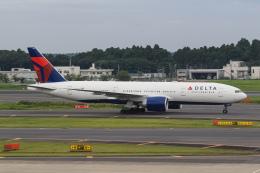 ryu330さんが、成田国際空港で撮影したデルタ航空 777-232/LRの航空フォト(飛行機 写真・画像)
