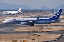 TOPAZ102さんが、関西国際空港で撮影した全日空 767-381/ERの航空フォト(飛行機 写真・画像)