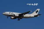 tassさんが、成田国際空港で撮影したパキスタン国際航空 A310-308の航空フォト(飛行機 写真・画像)
