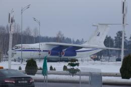 TUILANYAKSUさんが、ミンスク国際空港で撮影したトランサビアエクスポート・カーゴ・エアライン Il-76Tの航空フォト(飛行機 写真・画像)