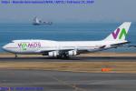 Chofu Spotter Ariaさんが、羽田空港で撮影したワモス・エア 747-4H6の航空フォト(飛行機 写真・画像)