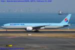 Chofu Spotter Ariaさんが、羽田空港で撮影した大韓航空 777-3B5/ERの航空フォト(飛行機 写真・画像)