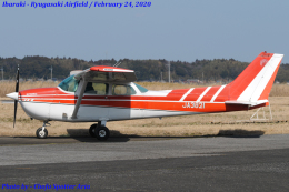 Chofu Spotter Ariaさんが、龍ケ崎飛行場で撮影した日本個人所有 172N Ramの航空フォト(飛行機 写真・画像)