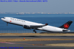 Chofu Spotter Ariaさんが、羽田空港で撮影したエア・カナダ A330-343Xの航空フォト(飛行機 写真・画像)