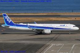 Chofu Spotter Ariaさんが、羽田空港で撮影した全日空 A321-211の航空フォト(飛行機 写真・画像)