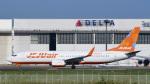 パンダさんが、成田国際空港で撮影したチェジュ航空 737-8LCの航空フォト(飛行機 写真・画像)