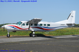 Chofu Spotter Ariaさんが、龍ケ崎飛行場で撮影した朝日航空 208B Grand Caravanの航空フォト(飛行機 写真・画像)