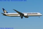 Chofu Spotter Ariaさんが、成田国際空港で撮影したシンガポール航空 787-10の航空フォト(飛行機 写真・画像)
