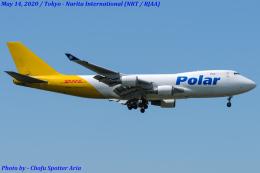 Chofu Spotter Ariaさんが、成田国際空港で撮影したポーラーエアカーゴ 747-45EF/SCDの航空フォト(飛行機 写真・画像)