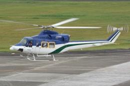 ブルーさんさんが、南紀白浜空港で撮影した朝日航洋 412の航空フォト(飛行機 写真・画像)