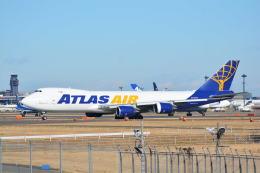 LEGACY-747さんが、成田国際空港で撮影したアトラス航空 747-87UF/SCDの航空フォト(飛行機 写真・画像)