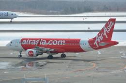LEGACY-747さんが、新千歳空港で撮影したエアアジア・ジャパン A320-216の航空フォト(飛行機 写真・画像)