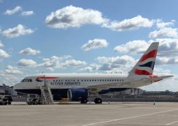 tuckerさんが、ロンドン・シティ空港で撮影したブリティッシュ・エアウェイズ A318-112の航空フォト(飛行機 写真・画像)
